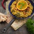 Currylinsen-Orangenmanouri Vorschau