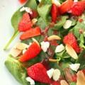 Erdbeer Spinat Salat