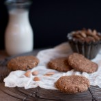 Oat & Almond Pulp Cookies {flowers on my plate} Hafer & Mandelmark Kekse Rezept2