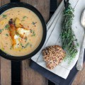 Schwarzwurzelcremesuppe-{flowers-on-my-plate}