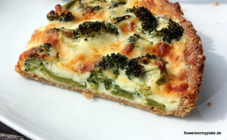 Rezept Brokkoli Quiche {flowers on my plate}