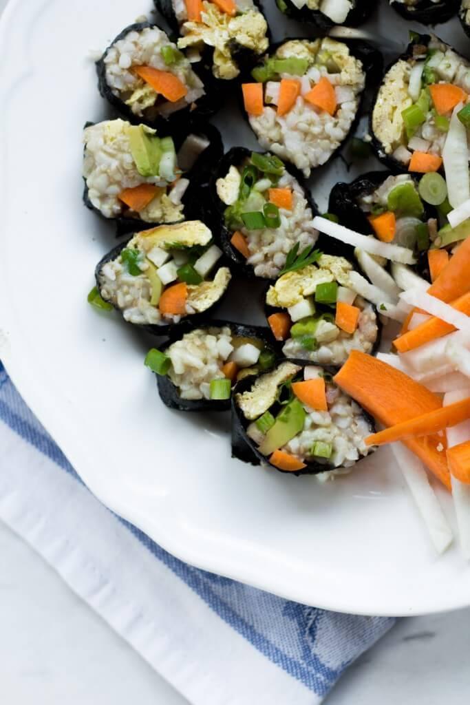 Rezept für veganes oder vegetarisches Sushi