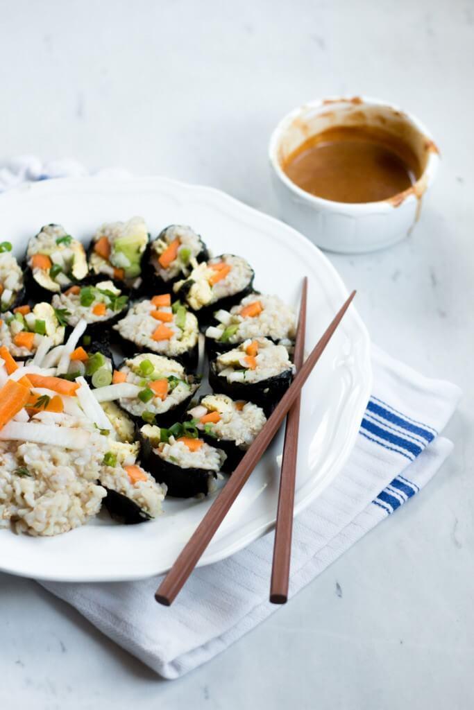 Vegetarisches Sushi Rezept