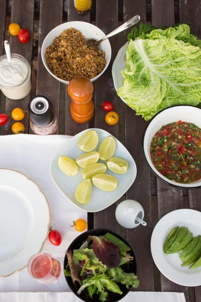Rezept für vegane Tacos