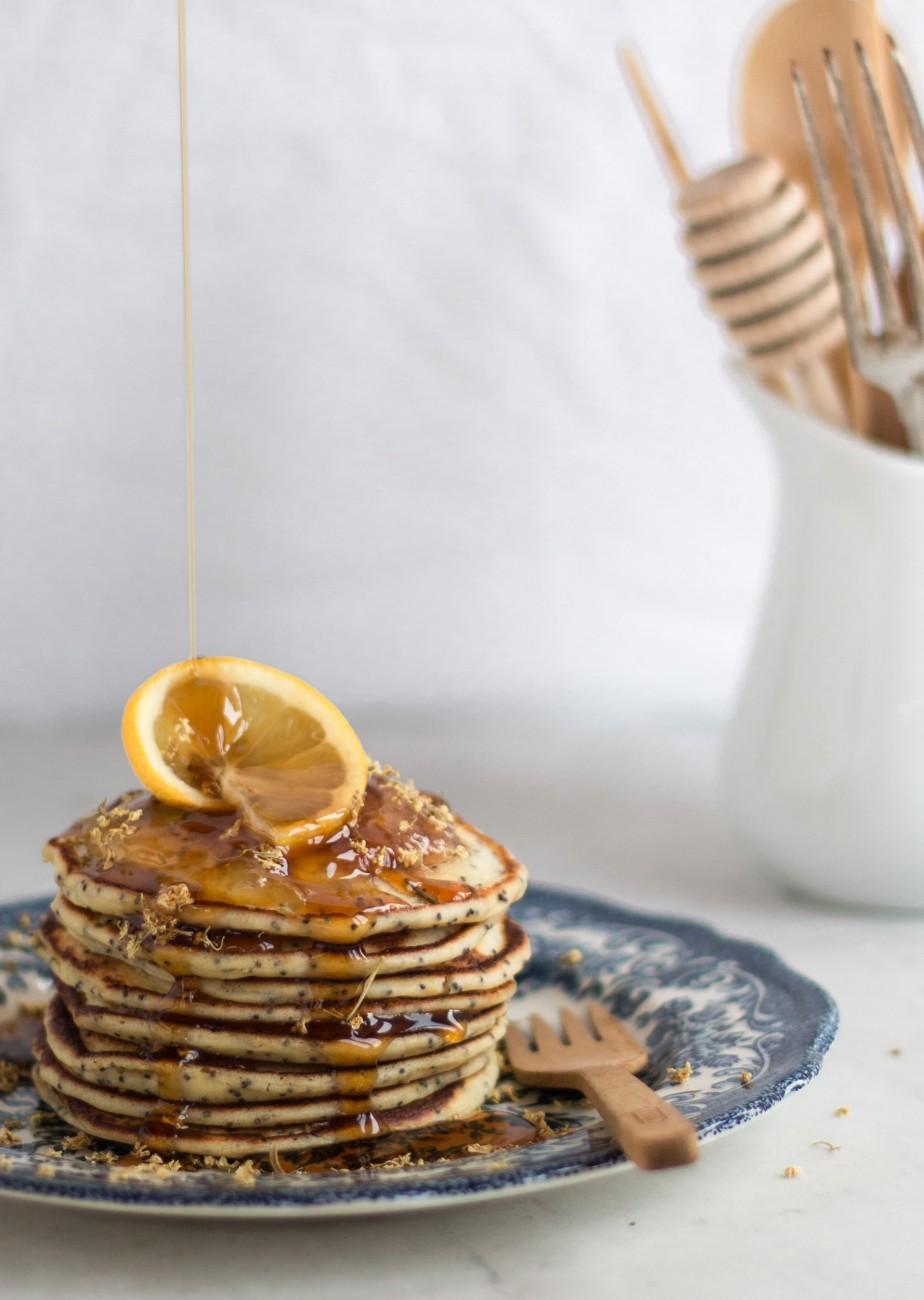 Zitrone & Mohn Pancakes