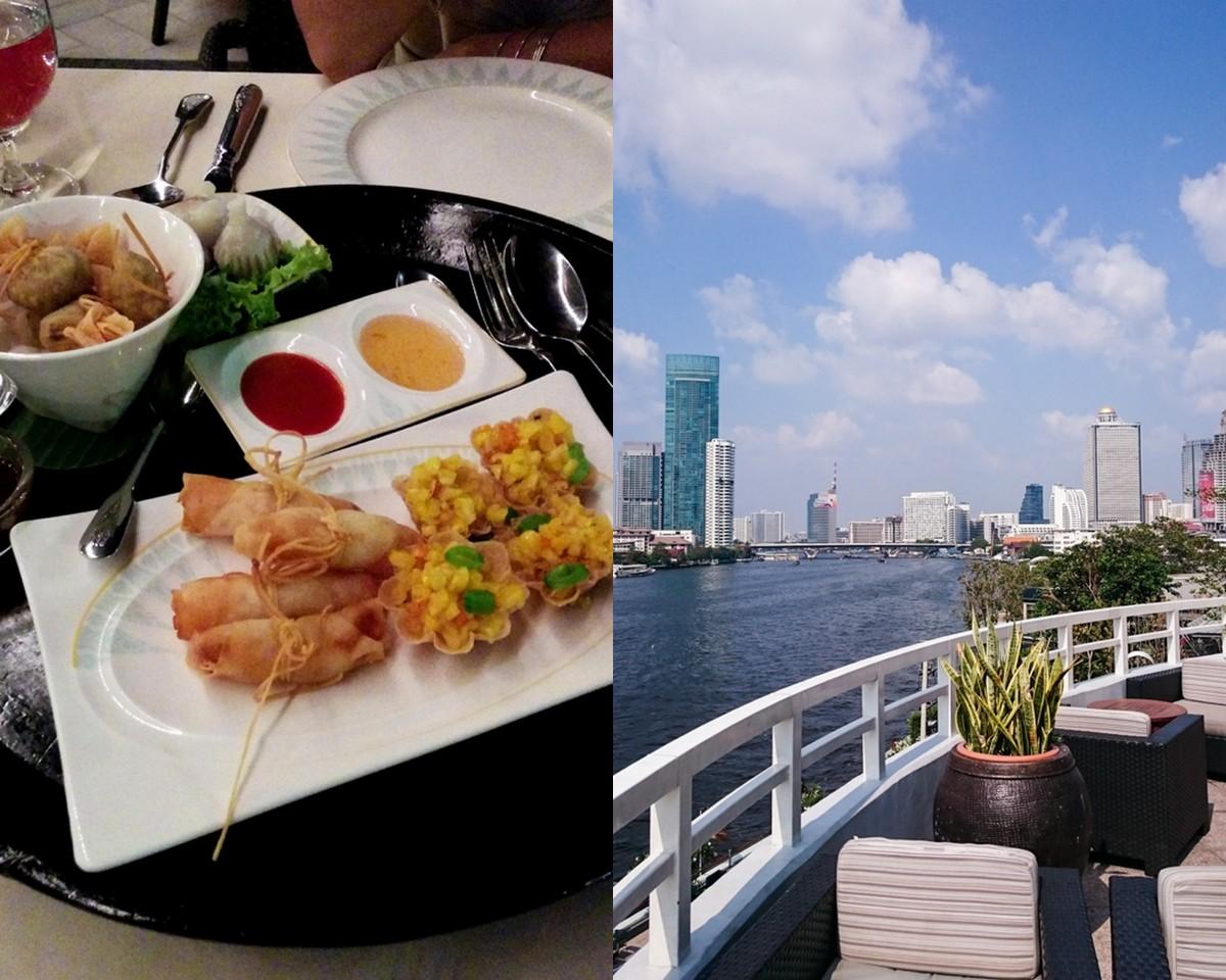 Bangkok {flowers on my plate}